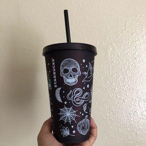 NWT Starbucks Fall Halloween Doodle Tumblr